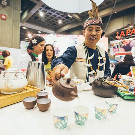 La Taïwan sert le thé!